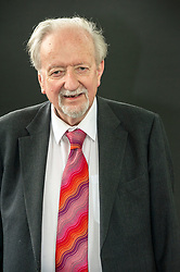 Pictured: John Killick was a teacher for thirty years, and has been a writer all his life. He has published books of his own poetry and books on creative writing. He began working with people with dementia in 1992, and has held a number of posts with nursing homes, hospitals, libraries and arts centres. <br /> <br /> Book fanatics headed to Charlotte Square in Edinburgh which is the hub of the international Book Festival to meet the authors and also to meet up with fellow fans of the printed word.<br /> <br /> 25 August 2017
