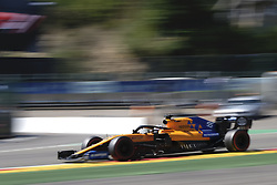 August 31, 2019, Spa Francorchamps, Belgium: McLaren Driver CARLOS SAINZ (ESP) in action during the third free practice session of the Formula one Johnnie Walker Belgian Grand Prix at the SPA Francorchamps circuit - Belgium (Credit Image: © Pierre Stevenin/ZUMA Wire)