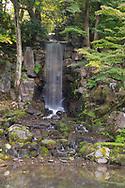The Midoritaki Waterfall in the Kenrokuen Garden, Kanazawa, Ishigawa, Japan