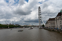 London Eye is the world's largest cantilevered observation wheel photo by Mark anton smith