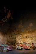 Congonhas_MG, Brasil. ..Detalhe da escultura Passo do Horto, do  mestre Aleijadinho (Antonio Francisco Lisboa) no  Santuario de Bom Jesus do Matosinhos...Detail of the sculpture Garden of Gethsemane Station, of mester Aleijadinho (Antonio Francisco Lisboa) in the Bom Jesus do Matosinhos Sanctuary..Foto: LEO DRUMOND / NITRO..