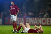 Fotball<br /> UEFA-Cup 2004/2005<br /> Foto: ProShots/Digitalsport<br /> NORWAY ONLY<br /> <br /> alkmaar 05-05-2005 <br /> <br /> az - sporting lissabon 3-2 <br /> <br /> Denny Landzaat en Stein Huijsegems