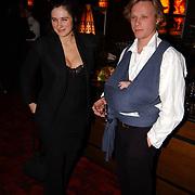 Premiere de Passievrucht, Tamar van den Dop met man en dochter Minke