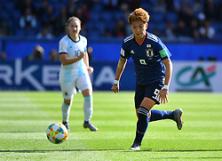 Sagasawa during the FIFA Women's World Cup group D first round soccer match between Argentina and Japan at Parc des Princes Stadium in Paris, France on June 10, 2019. The FIFA Women's World Cup France 2019 will take place in France from 7 June until 7 July 2019. Photo by Christian Liewig/ABACAPRESS.COM