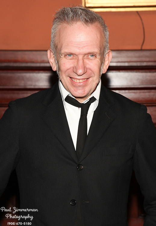 NEW YORK, NY - MARCH 17:  Fashion designer Jean Paul Gaultier attends the Lycee Francais de New York 2012 gala at the Park Avenue Armory on March 17, 2012 in New York City.  (Photo by Paul Zimmerman/WireImage)