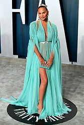 Chrissy Teigen attending the Vanity Fair Oscar Party held at the Wallis Annenberg Center for the Performing Arts in Beverly Hills, Los Angeles, California, USA.