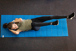 Reebok Boston Track Club<br /> home base training<br /> Josette Norris