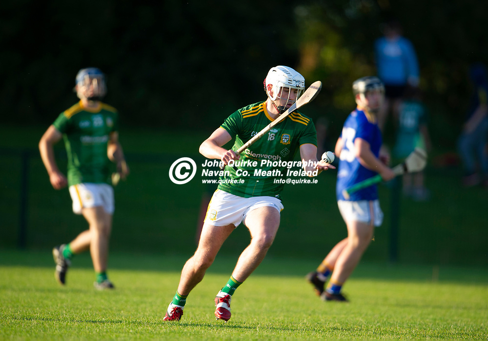 13-07-21. Meath v Wicklow - Leinster U-20 B Hurling Championship (Richie McElligott Cup) 2021 at St. Loman's Park, Trim.<br /> Brian Moore, Meath in action against Wicklow in the Leinster U-20 B Hurling Championship (Richie McElligott Cup) 2021<br /> Photo: John Quirke / www.quirke.ie<br /> ©John Quirke Photography, 16 Proudstown Road, Navan. Co. Meath. (info@quirke.ie / 046-9028461 / 087-2579454).