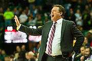 WACO, TX - JANUARY 7: Kansas Jayhawks head coach Bill Self looks on against the Baylor Bears on January 7, 2015 at the Ferrell Center in Waco, Texas.  (Photo by Cooper Neill/Getty Images) *** Local Caption *** Bill Self