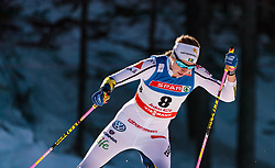 27.01.2018, Nordic Arena, Seefeld, AUT, FIS Weltcup Langlauf, Seefeld, Langlauf, Damen, im Bild Evelina Settlin (SWE) // Evelina Settlin of Sweden // during Ladies Cross Country Race of the FIS World Cup at the Nordic Arena in Seefeld, Austria on 2018/01/27. EXPA Pictures © 2018, PhotoCredit: EXPA/ JFK