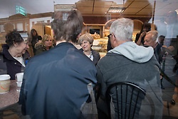 Prime Minister Theresa May makes a visit to Scotch bakery in Fleetwood, Lancashire, on the General Election campaign trail.