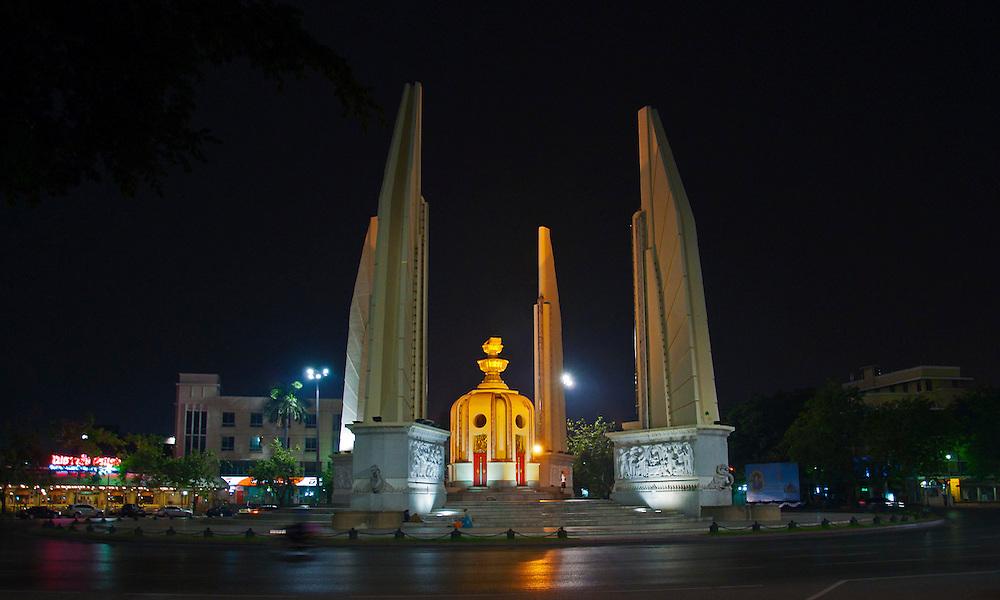 Democracy Monument In Bangkok.