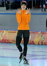 09-02-2014 SCHAATSEN: OLYMPIC GAMES: SOTSJI<br /> Drie Olympische Spelen en 3 keer goud op de spelen<br /> ©2014-FotoHoogendoorn.nl<br />  / Sportida