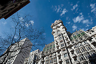 In the center of Buenos Aires, especially in Avenida de Mayo, conquer the architecture of the last century, the atmosphere is European