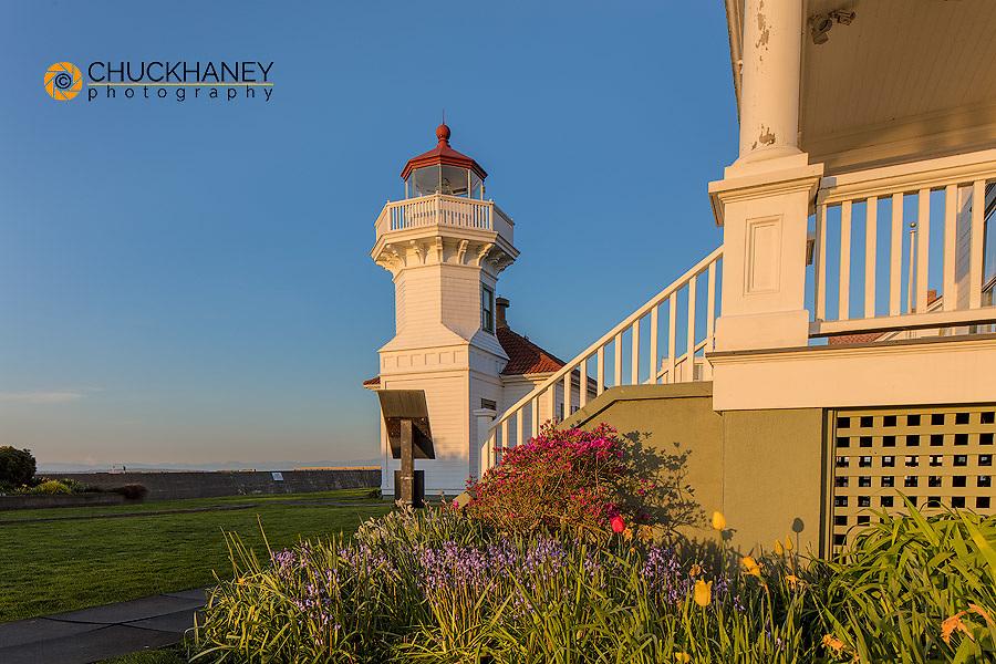 The Mukilteo Lighthouse in Everett, Washington, USA