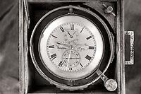 Nautical clock from Mystic Seaport Museum in Mystic, CT, U.S.A.