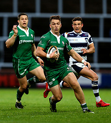 Alex Lewington of London Irish runs with the ball - Mandatory by-line: Robbie Stephenson/JMP - 17/05/2017 - RUGBY - Headingley Carnegie Stadium - Leeds, England - Yorkshire Carnegie v London Irish - Greene King IPA Championship Final 1st Leg