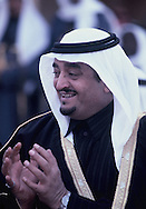 Crown Prince Fahd during President Carter's  visit to Saudi Arabia  on January 3, 1978. photo by Dennis Brack