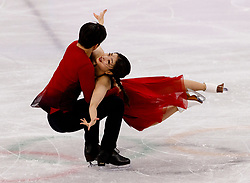 February 12, 2018 - Gangneung, South Korea - MAIA SHIBUTANI and ALEX SHIBUTANI of the USA compete during the Team Event Ice Dance Free Dance at the PyeongChang 2018 Winter Olympic Games at Gangneung Ice Arena. (Credit Image: © Paul Kitagaki Jr. via ZUMA Wire)