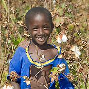Playing in the cotton fields of Koumbadiouma. Kolda, Senegal.