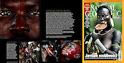 National Geographic / Scarifications Tearsheet - Jean-Michel Clajot - Photojournalist