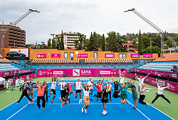 PORTOROZ, SLOVENIA - SEPTEMBER 19:  Tournament Staff during the WTA 250 Zavarovalnica Sava Portoroz at SRC Marina, on September 19, 2021 in Portoroz / Portorose, Slovenia. Photo by Vid Ponikvar / Sportida