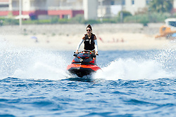 Kendall Jenner is jet skiing in Antibes, France during the International Film Festival, on May 24, 2017. Photo by ABACAPRESS.COM