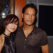 Playboy Night 2004, Jennifer de Jong en Mike Kepel