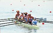 Eton Dorney, Windsor, Great Britain,..2012 London Olympic Regatta, Dorney Lake. Eton Rowing Centre, Berkshire[ Rowing]...Description; . GBR W8+.  Start Area, Crews Training. 12:03:28   Wednesday  25/07/2012..[Mandatory Credit: Peter Spurrier/Intersport Images].