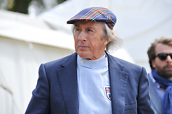 SIR JACKIE STEWART at a luncheon hosted by Cartier for their sponsorship of the Style et Luxe part of the Goodwood Festival of Speed at Goodwood House, West Sussex on 1st July 2012.