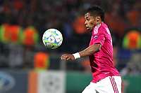 FOOTBALL - UEFA CHAMPIONS LEAGUE 2011/2012 - 1/8 FINAL - 1ST LEG - OLYMPIQUE LYONNAIS v APOEL FC - 14/02/2012 - PHOTO EDDY LEMAISTRE / DPPI - MICHEL BASTOS (OL)