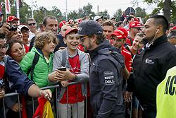 September 2, 2018 - Monza, Italy - Motorsports: FIA Formula One World Championship 2018, Grand Prix of Italy, .#14 Fernando Alonso (ESP, McLaren F1 Team) (Credit Image: © Hoch Zwei via ZUMA Wire)