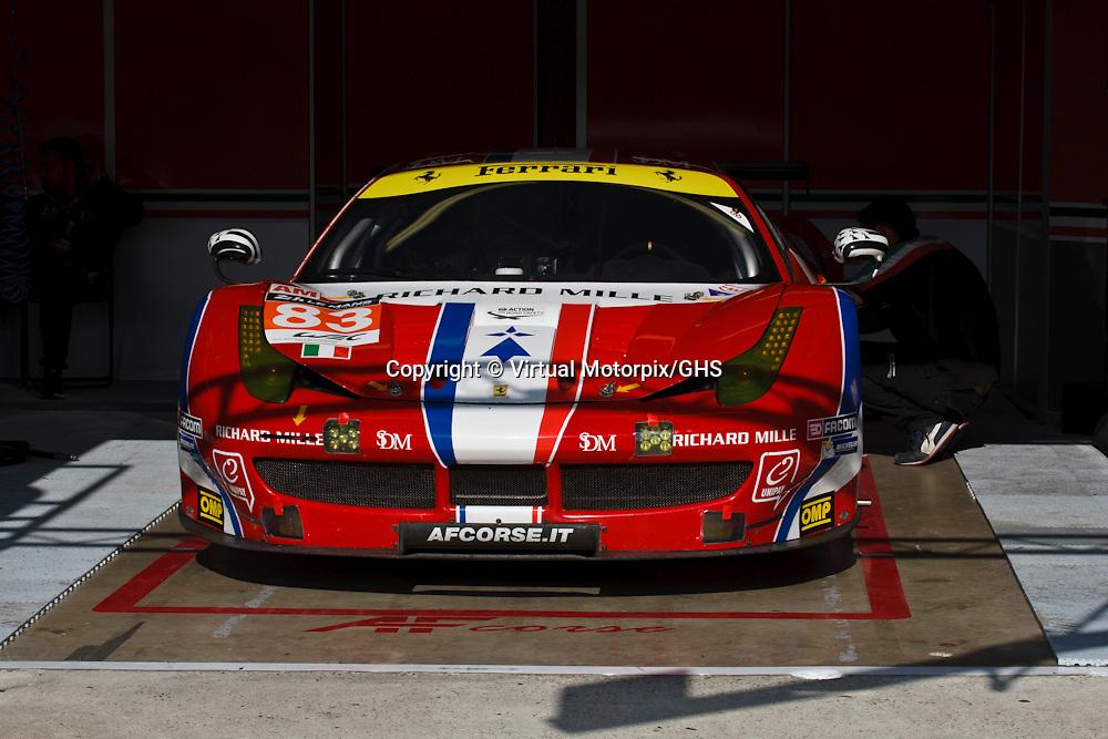 #83 Ferrari 458 Italia, AF Corse, Rui Aguas, Emmanuel Collard, Francois Perrodo at Le Mans 24H, 2015
