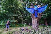 Giant Hummingbirds in teh Faraway Forest - The 2017 Latitude Festival, Henham Park. Suffolk 14 July 2017