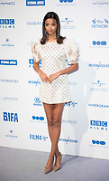 Ella Balinska at the 22nd British Independent Film Awards, Roaming Arrivals, Old Billingsgate, London, UK - 01 Dec 2019