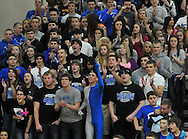 Midview vs St. Edward in a boys high school varsity basketball game on March 10, 2012.