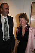 WILLIAM CASH AND SOPHIE SWIRE, Spear's Wealth Management High-Net-Worth Awards. Sotheby's. 10 July 2007.  -DO NOT ARCHIVE-© Copyright Photograph by Dafydd Jones. 248 Clapham Rd. London SW9 0PZ. Tel 0207 820 0771. www.dafjones.com.
