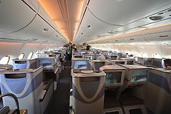 10.06.2010, Flughafen Schönefeld, Berlin, GER, ILA Internationalen Luftfahrt-Ausstellung, im Bild Innenansichtes der First Class des Airbus A380 der Emirates EXPA Pictures © 2010, PhotoCredit: EXPA/ nph/ Hammes / SPORTIDA PHOTO AGENCY