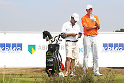 Een dag voor het KLM Open wordt de KLM pro Am gespeeld. Amateurs spelen gezamenlijk met een speler van de European Tour , sponsoren en genodigden op de toernooibaan van Kennemer Golf & Country Club .<br /> <br /> Op de foto:<br /> <br />  Top Golfer Maarten Lafeber  <br /> <br /> The day before the KLM Open, the KLM pro Am games. Amateurs play together with one player from the European Tour, sponsors and invited guests at the tournament path of Kennemer Golf & Country Club.