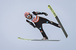 27.02.2021, Oberstdorf, GER, FIS Weltmeisterschaften Ski Nordisch, Oberstdorf 2021, Herren, Skisprung, HS106, Einzelbewerb, im Bild Pius Paschke (GER) // Pius Paschke of Germany during men ski Jumping HS106 Single Competition of FIS Nordic Ski World Championships 2021. in Oberstdorf, Germany on 2021/02/27. EXPA Pictures © 2021, PhotoCredit: EXPA/ JFK