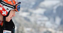 22.01.2011, Hahnenkamm, Kitzbuehel, AUT, FIS World Cup Ski Alpin, Men, Downhill, im Bild // Didier Cuche (SUI) // during the men downhill race at the FIS Alpine skiing World cup in Kitzbuehel, EXPA Pictures © 2011, PhotoCredit: EXPA/ S. Zangrando