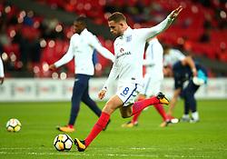 Jordan Henderson of England - Mandatory by-line: Robbie Stephenson/JMP - 05/10/2017 - FOOTBALL - Wembley Stadium - London, United Kingdom - England v Slovenia - World Cup qualifier