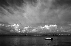 Una piccola barca a San Vito, Taranto
