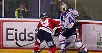 Ishockey , Get - ligaen ,<br /> Kvartfinale 5/7<br /> 12.03.2012 <br /> Kristins Hall<br /> Lillehammer I.K  v Sparta Sarpsborg    4-2<br /> Foto:Dagfinn Limoseth  -  Digitalsport<br /> Marcus Olsson , Sparta