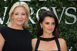 Nadja Swarovski and Penelope Cruz attends Atelier Swarovski - Cocktail Of The New Penelope Cruz Fine Jewelry Collection during Paris Haute Couture Fall Winter 2018/2019 in Paris, France on July 02, 2018. Photo by Nasser Berzane/ABACAPRESS.COM