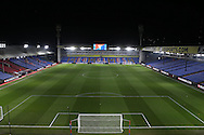 a General view of inside an empty Selhurst Park before the game. Emirates FA Cup 3rd round replay match, Crystal Palace v Bolton Wanderers at Selhurst Park in London on Tuesday 17th January 2017.<br /> pic by John Patrick Fletcher, Andrew Orchard sports photography.