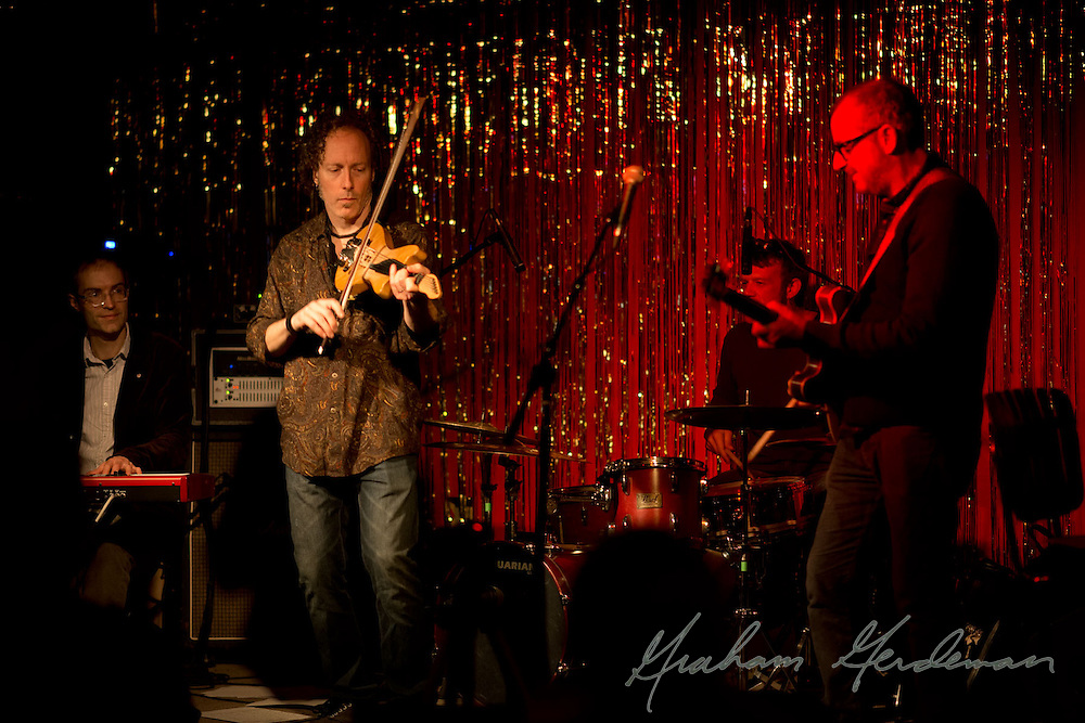 """""""The Silvermen"""" show at the Stone Fox in Nashville, TN - featuring the Jack Silverman Ordeal with guest Tracy Silverman (violin)"""