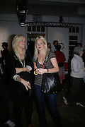 OLYMPIA SCARRY AND MARISSA MONTGOMERY,  Twenty Hoxton Square. Opening exhibition of new gallery at Twenty Hoxton Square. -DO NOT ARCHIVE-© Copyright Photograph by Dafydd Jones. 248 Clapham Rd. London SW9 0PZ. Tel 0207 820 0771. www.dafjones.com.