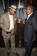 l to r: Munson Steed and Bernard Bronner at The Urban Network Magazine and Alistair Entertainment V.I.P Reception honoring Stephen Hill & Charles Warfield & theCelebration of Urban Network's 21st Anniversary held at the Canal Room on May 13, 2009 in New York City .