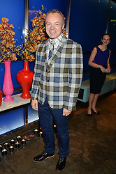 GRAHAM NORTON at a dinner hosted by Anya Hindmarch and Dylan Jones to celebrate the end London Collections: Men 2014 held at Hakkasan, 8 Hanway Place, London on 8th January 2014.